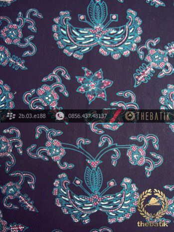 Kain Batik Tulis Jogja Motif Gurdo Hijau
