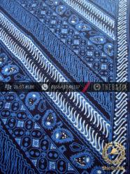 Kain Batik Cap Tulis Jogja Motif Parang Tuding Biru