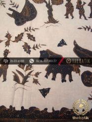 Batik Tulis Cirebon Motif Kumpeni Coklat