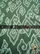Batik Tulis Cirebon Motif Megamendung Hijau