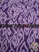 Batik Tulis Cirebon Motif Megamendung Ungu