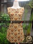 Dress Batik Cap Tulis Solo Motif Pintu Retno