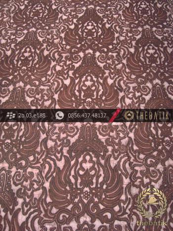 Kain Batik Warna Alam Motif Semen Klasik