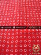 Kain Batik Cap Motif Truntum Merah