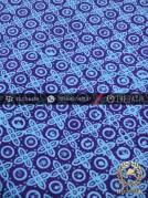 Kain Batik Cap Jogja Motif Grompol Kelengan Ungu Biru