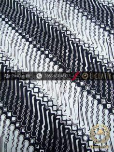 Kain Batik Cap Jogja Motif Parang Tuding Kelengan