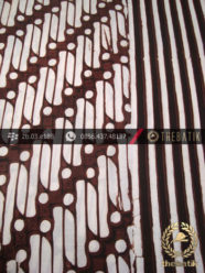 Kain Batik Cap Motif Parang Barong Seling Garis
