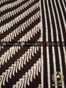 Kain Batik Cap Motif Parang Canthel Seling Garis