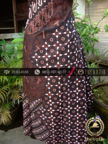 Kain Batik Cap Tulis Jogja Motif Parang Klithik Kombinasi
