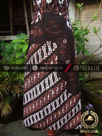 Kain Batik Cap Tulis Jogja Motif Pulau Parang Krantil