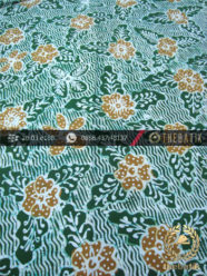 Batik Tulis Jogja Motif Bantulan Galaran Hijau