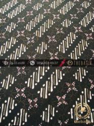 Kain Batik Cap Tulis Jogja Motif Parang Kotak Hijau
