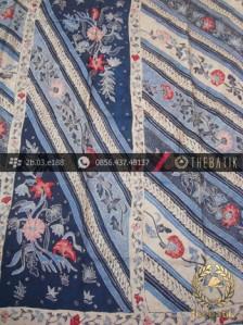 Sarung Selendang Batik Sutera Tulis Motif Batik Tiga Negeri