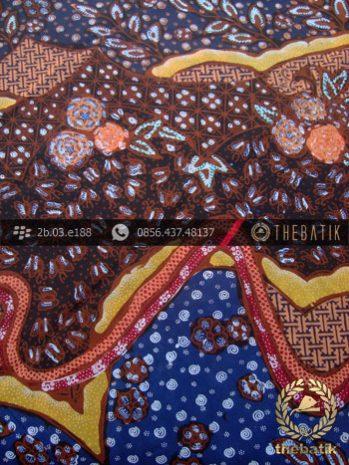 Kain Batik Sutera Motif Kombinasi