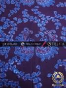 Batik Tulis Jogja Motif Angsa Kembar Biru