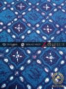 Batik Cap Tulis Jogja Motif Grompol Biru