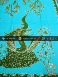 Batik Tulis Pesisiran Motif Naga Besar Hijau Tosca