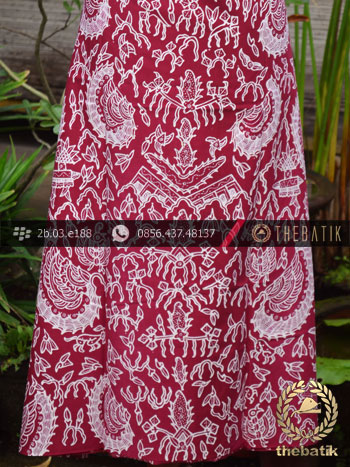 Kain Batik Tulis Jogja Motif Semen Marun