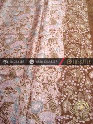 Kain Batik Sutera Motif Pesisiran Pink Lawasan