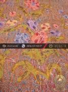 Batik Cap Tulis Pesisiran Motif Bouquet Colet Kontemporer