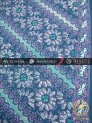 Batik Cap Tulis Motif Lereng Kelir Toska