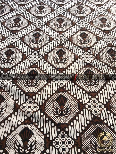 Batik Klasik Jogja Motif Gurdo Sisik Putih