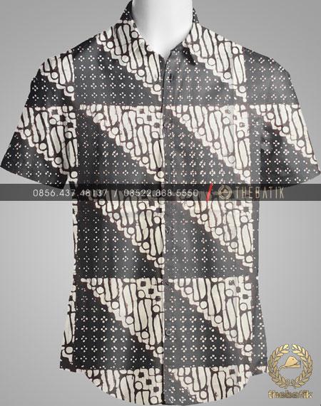 Kain Batik Klasik Jogja Motif Tambal Parang