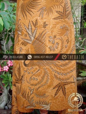 ... Batik Solo Kombinasi Tulis Motif Peksi Soga Genes ... 0082a069f8
