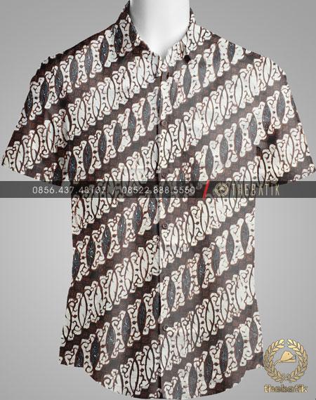 Kain Batik Klasik Jogja Motif Parang Tulang