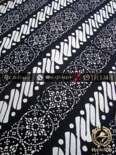 Batik Cap Motif Klithik Nithik Hitam Kelengan