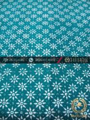 Batik Cap Motif Kembang Tanjung Tosca Kelengan