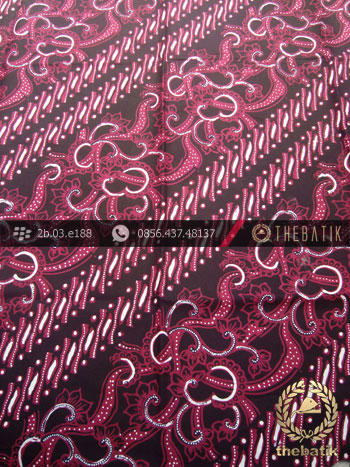 Batik Cap Tulis Jogja Motif Parang Klithik Sekar Jambon