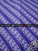 Batik Cap Motif Parang Klithik Ungu Kelengan