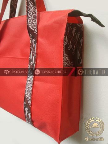 Tas Seminar Batik Eksklusif Merah