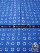 Batik Cap Motif Truntum Biru Kelengan