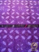 Batik Cap Tulis Jogja Motif Kawung Kembang Ungu