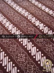 Batik Cap Jogja Motif Parang Klithik Nithik Coklat