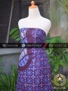 Batik Cap Tulis Jogja Motif Parang Pulau Biru Kombinasi