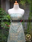 Kain Batik Cap Silky Motif Kontemporer Hijau
