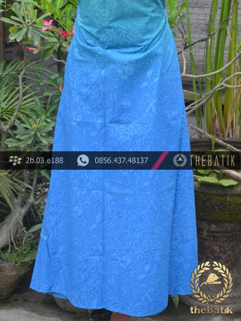 Kain Batik Emboss Motif Gradasi Biru  THEBATIKcoid
