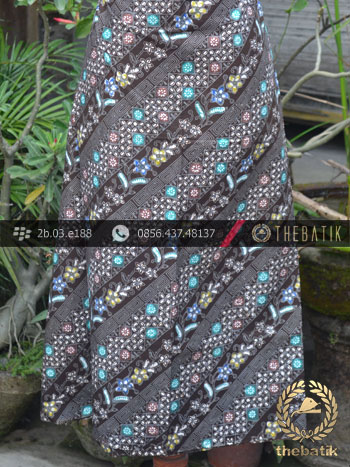 Batik Cap Tulis Jogja Motif Lereng Coletan