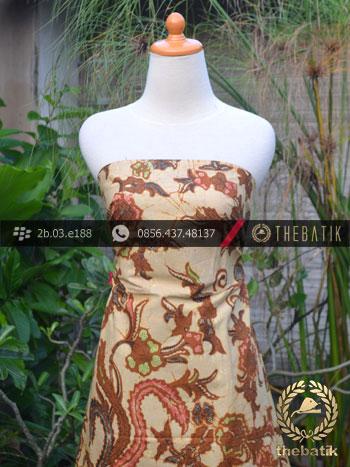 Batik Cap Tulis Solo Motif Peksi Kombinasi
