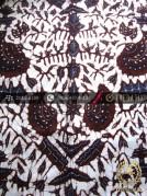 Kain Batik Tulis Jogja Motif Semen Romo Latar Putih