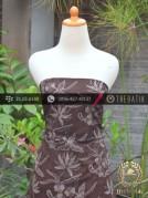 Kain Batik Warna Alam Motif Kontemporer Bunga-3