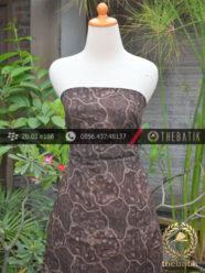 Kain Batik Warna Alam Motif Sekarjagad Kontemporer