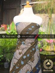 Batik Tulis Pesisir Motif Lereng Bouquet Latar Gringsing