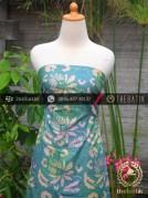 Batik Cap Motif Gradasi Kontemporer Hijau