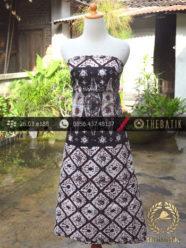 Batik Cap Jogja Motif Sido Mulyo Tumpal