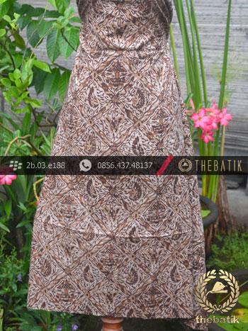 Kain Batik Warna Alam Motif Sido Luhur