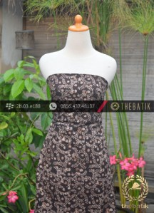 Kain Batik Warna Alam Motif Ukel